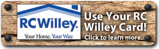 RC Willey Credit Card