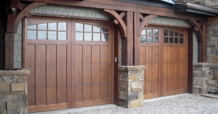 Wood Garage Doors Custom Entry And Interior Hand Crafted In Salt Lake City